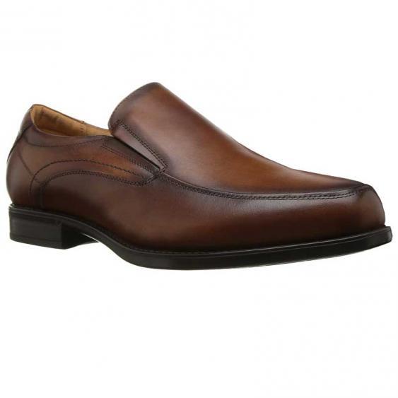 Florsheim Midtown Moc Toe Slip-On Cognac 12137-221 (Men's)