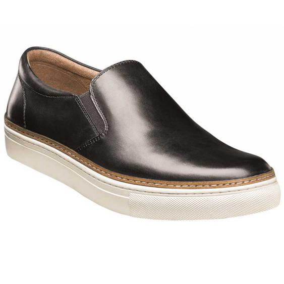 Florsheim Pivot Plain Toe Slip On Black Smooth 15137-001 (Men's)