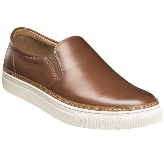 Florsheim Pivot Plain Toe Slip On Brown Smooth 15137-221 (Men's)