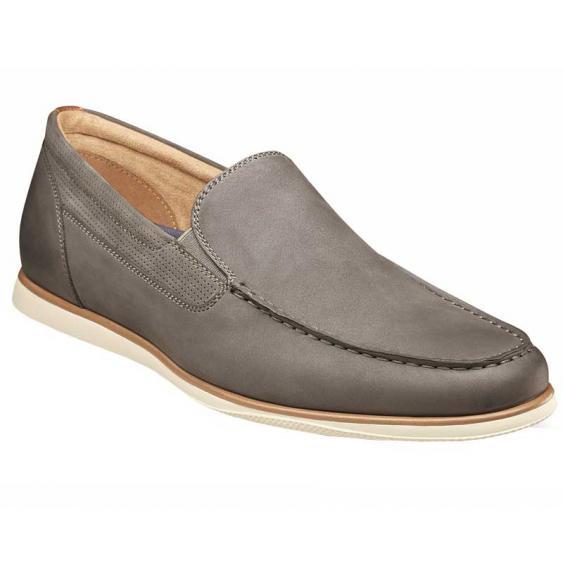 Florsheim Atlantic Moc Toe Slip-On Gray 13316-020 (Men's)