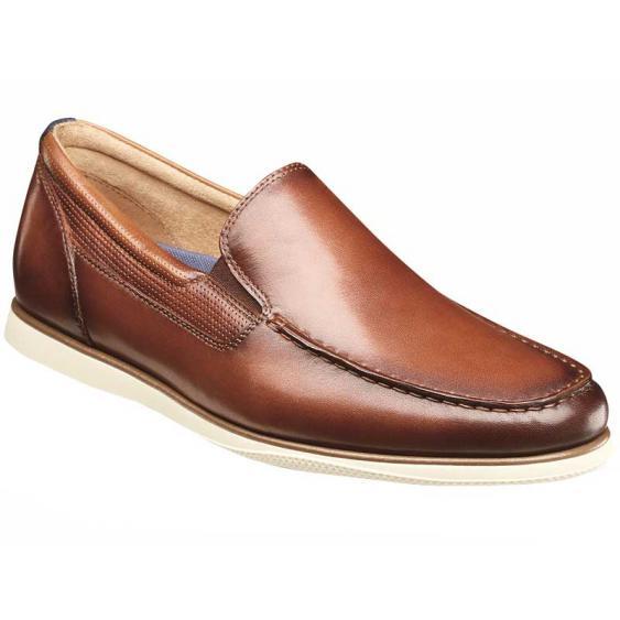 Florsheim Atlantic Moc Toe Slip-On Cognac 13316-221 (Men's)