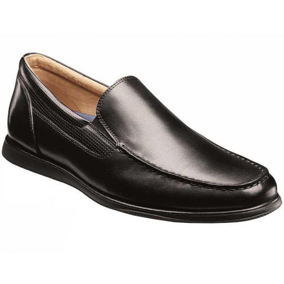 Florsheim Atlantic Moc Toe Slip-On Black 13316-001 (Men's)