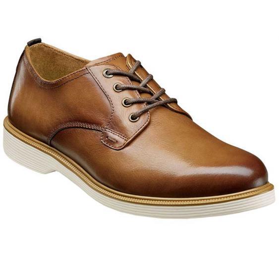 Florsheim Supacush Plain Toe Oxford Cognac 13317-221 (Men's)