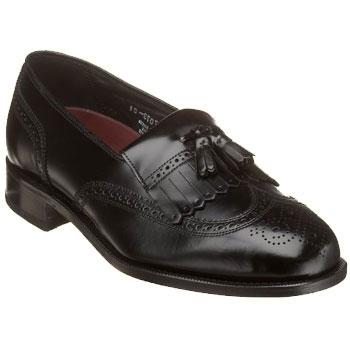 Florsheim Lexington Kiltie Slip-On Black 17073-01 (Men's)