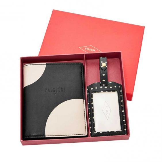 Fossil Keely Gift Set Black/ White SL7216-005
