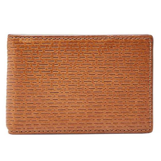 Fossil Coby Mini Clip Bifold Cognac ML3916-222