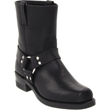 Frye Harness 8R Black Greasy Leather 87400 (Men's)