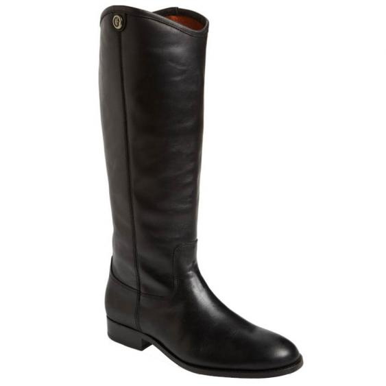 Frye Melissa Button 2 Black 3475447-BLK (Women's)