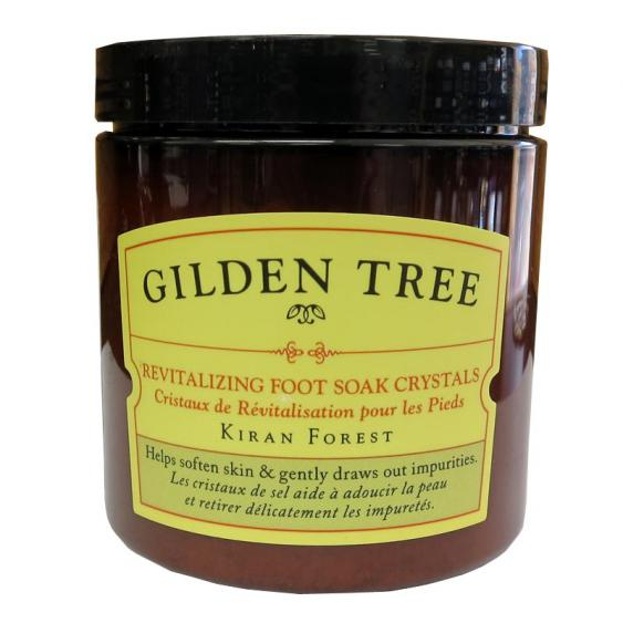 Gilden Tree Revitalizing Foot Soak Crystals Kiran Forest