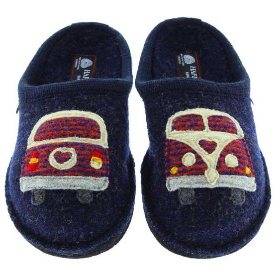 Haflinger Hippie-Van Blue 313069-79 (Women's)