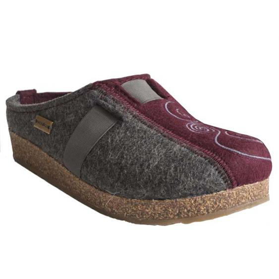 Haflinger Magic Grey/Red 741013-556 (Women's)