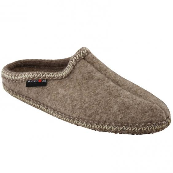Haflinger AS26 Classic Woolfelt Slipper Natural (Women's)