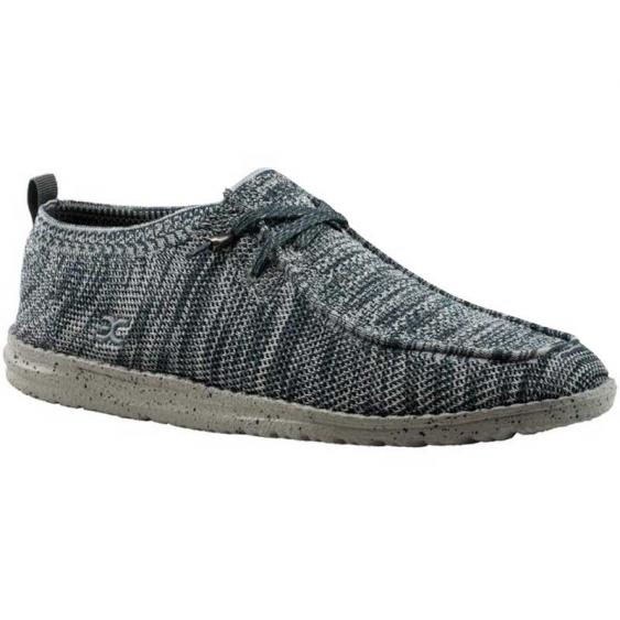 Hey Dude Wally Eco-Knit Grey Multi 111273039 (Men's)