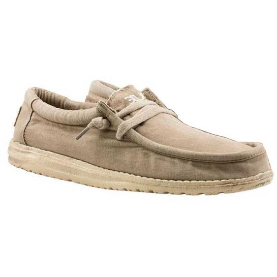 Hey Dude Wally Washed Chestnut 111521602 (Men's)