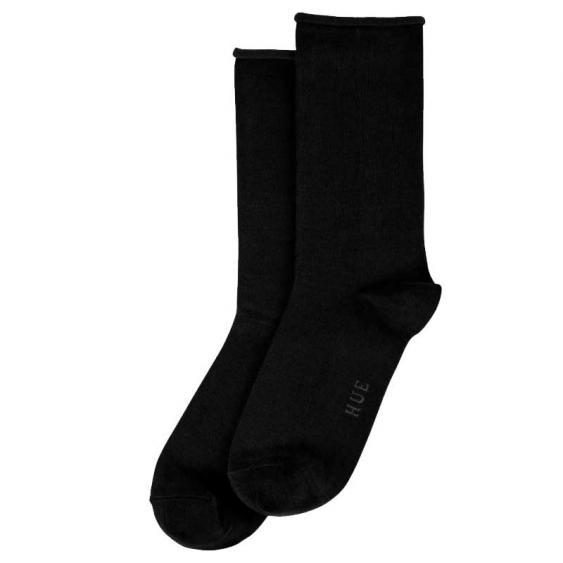 Hue Jeans Sock Black U6487-79001 (Women's)