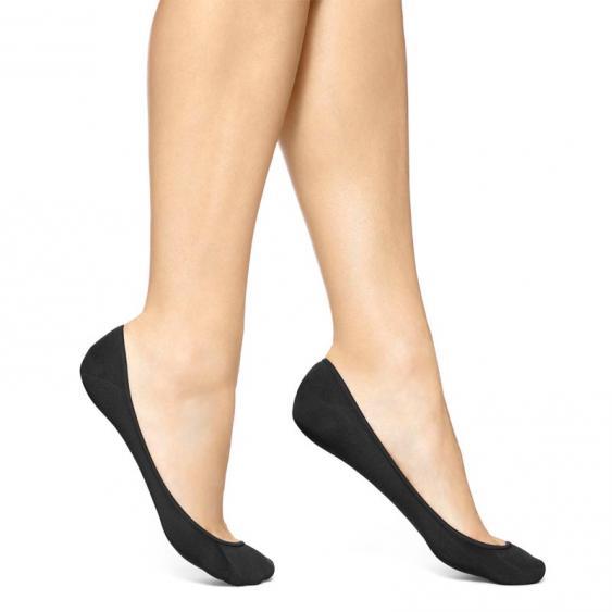 Hue Hidden Cotton Liner Black U7954-79001 (Women's)