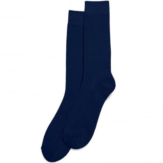 Hue Solid Sock Navy HM17327-00024 (Men's)