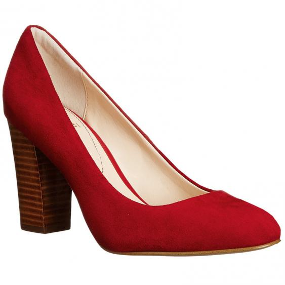 Isola Eleni II Fire Red Suede 6223622 (Women's)