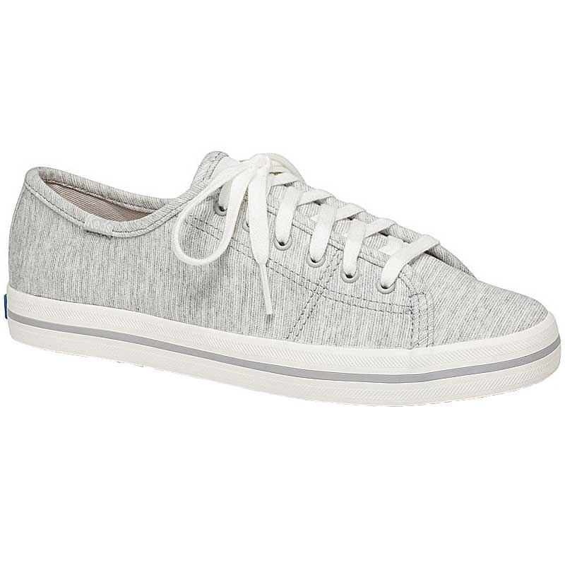 79b9796854d Keds Kickstart Stripy Jersey Light Grey WF59577 (Women s)