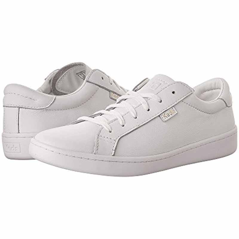 090d74605347 Keds Ace Leather White   White WH56857 (Women s)