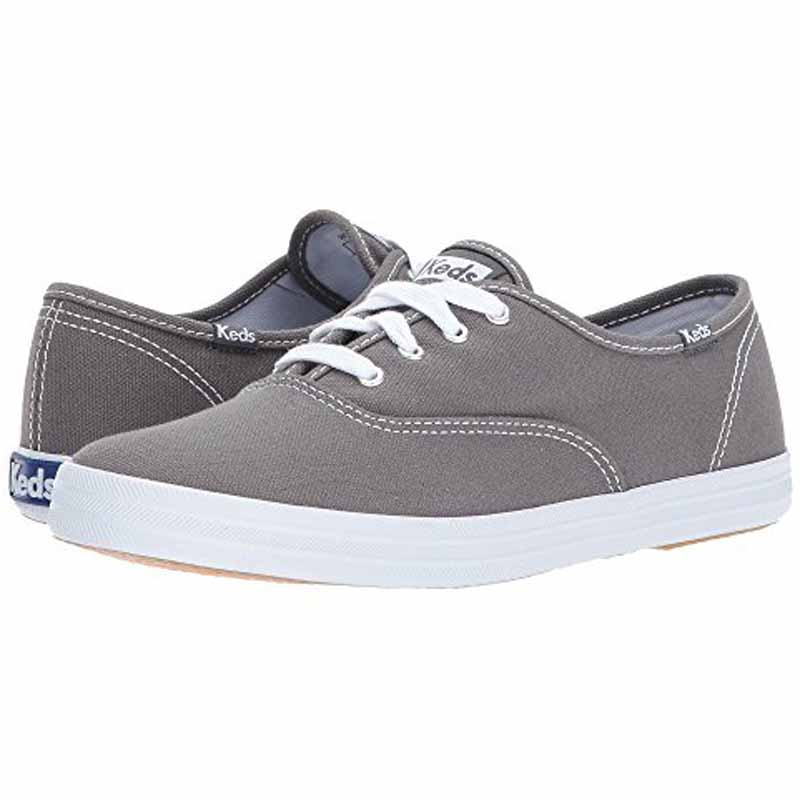65ea3a40afe7a Keds Champion Canvas Graphite Grey WF35186 (Women s). Loading zoom