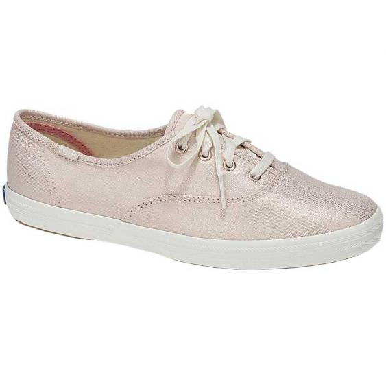 Keds Champion Metallic Linen Rose Gold WF57957 (Women's)