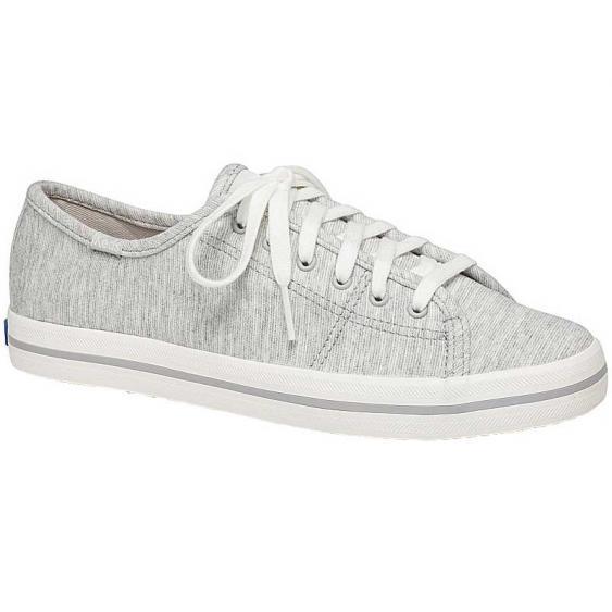 Keds Kickstart Stripy Jersey Light Grey WF59577 (Women's)