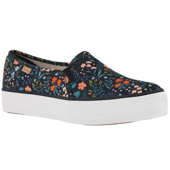 Keds X Rifle Paper Co. Triple Decker Wildwood Black WF60998 (Women's)