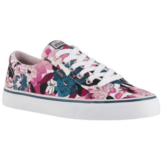 Keds Jump Kick Floral White/ Teal/ Pink WF61781 (Women's)