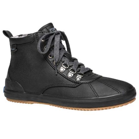Keds Scout Boot II Matte Twill WX Black WF60607 (Women's)