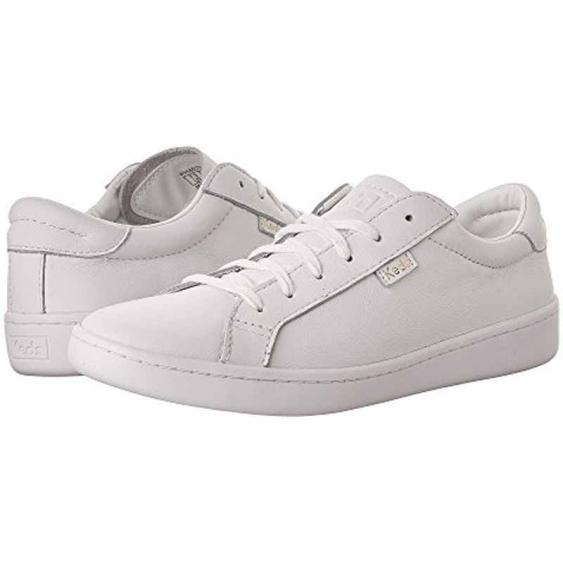 Keds Ace Leather White / White WH56857 (Women's)
