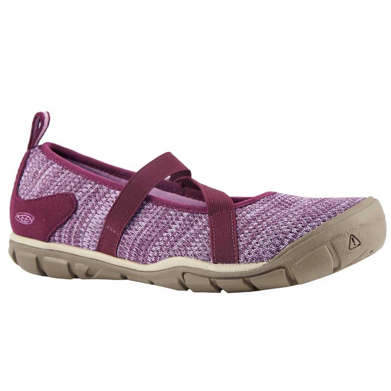 d34b3a77a13f Keen Hush Knit Mary Jane Grape Wine  Lavender Herb 1019005 (Women s).  Loading zoom