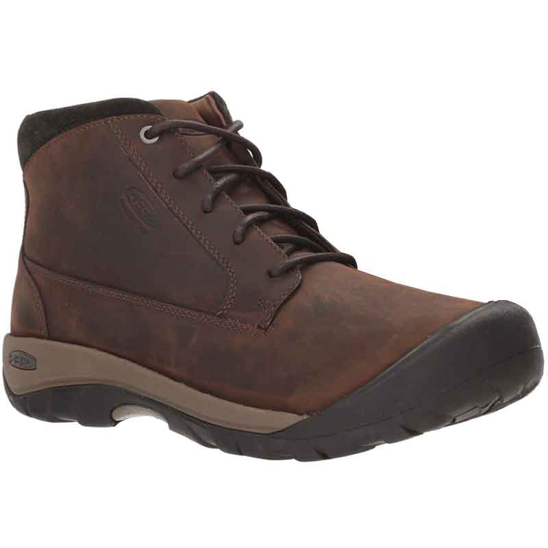 0f7b4a4c850 Keen Austin Casual Boot WP Chocolate Brown/ Black Olive 1019505 (Men's)
