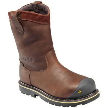 Keen Utility Dallas Wellington ST Dark Brown 1007043 (Men's)