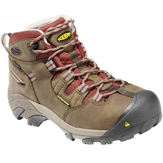 Keen Utility Detroit Mid Black Olive / Brown 1007014 (Women's)
