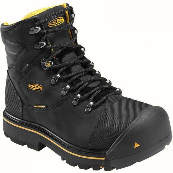 Keen Utility Milwaukee WP Steel Toe Black 1009173 (Men's)