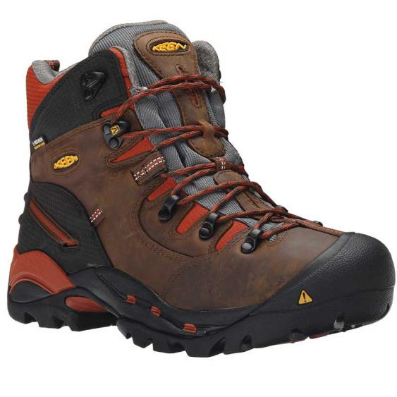 Keen Utility Pittsburgh 6'' Soft Toe Cascade Brown/Bombay Brown 1009709 (Men's)