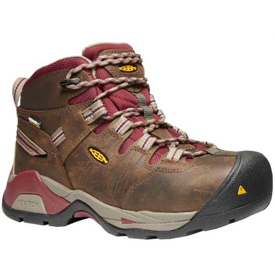 Keen Utility Detroit XT Mid Waterproof Black Olive/ Tawny Red 1020089 (Women's)