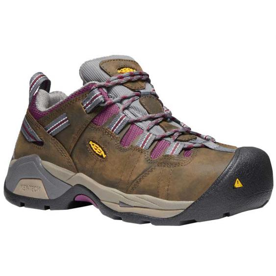 Keen Utility Detroit XT Low Cascade Brown/ Amaranth 1020036 (Women's)