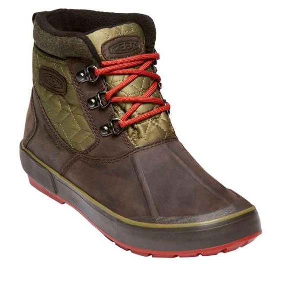 Keen Elsa II Ankle Quilted WP Mulch/Martini Olive 1019636 (Women's)