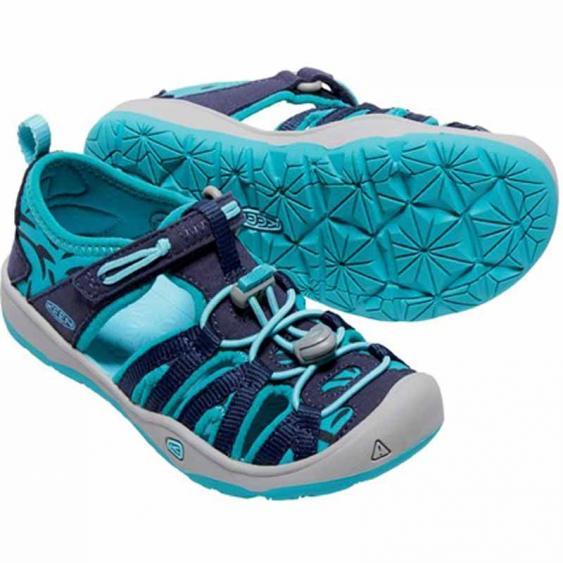 Keen Moxie Sandal Dress Blues / Viridian 1016354-DBVR (Kids)