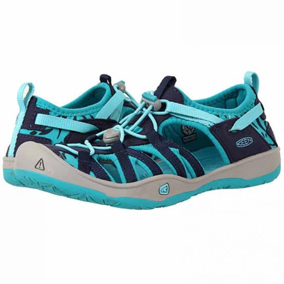Keen Moxie Sandal Dress Blue / Viridian 1016351-DBVR (Youth)