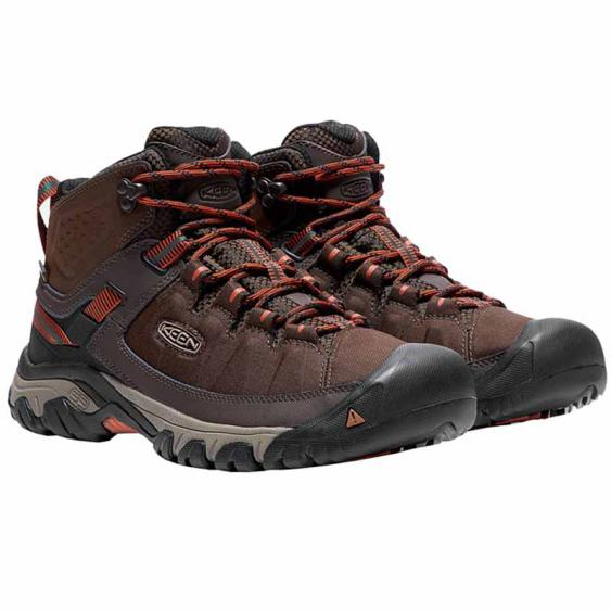 Keen Targhee EXP Mid WP Mulch / Burnt Ochre 1017718 (Men's)