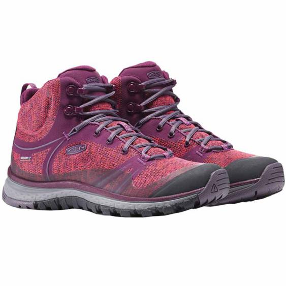 Keen Terradora Mid WP Dark Purple / Purple Sage 1016504 (Women's)