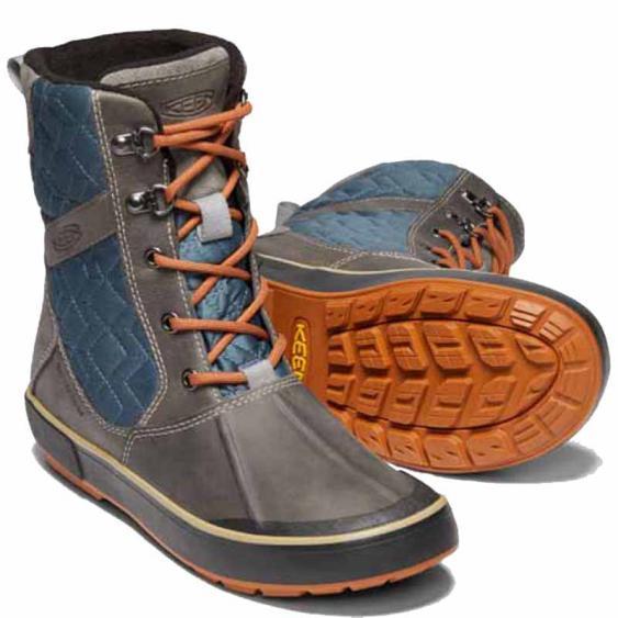 Keen Elsa II Quilted WP Boot Grey / Slate 1019564 (Women's)