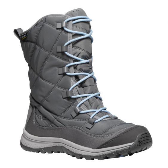 Keen Terradora Lace Boot WP Steel Grey/ Forget Me Not 1021732 (Women's)