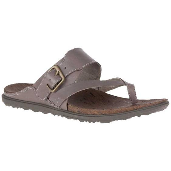 Merrell Around Town Luxe Buckle Thong Falcon J97398 (Women's)