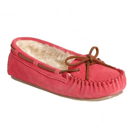 Minnetonka Cally Hot Pink Suede 4017 (Women's)