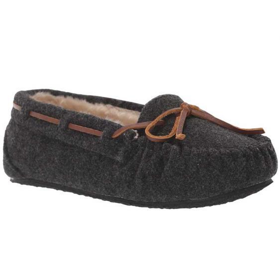 Minnetonka Fleece Cally Charcoal 4408 (Women's)