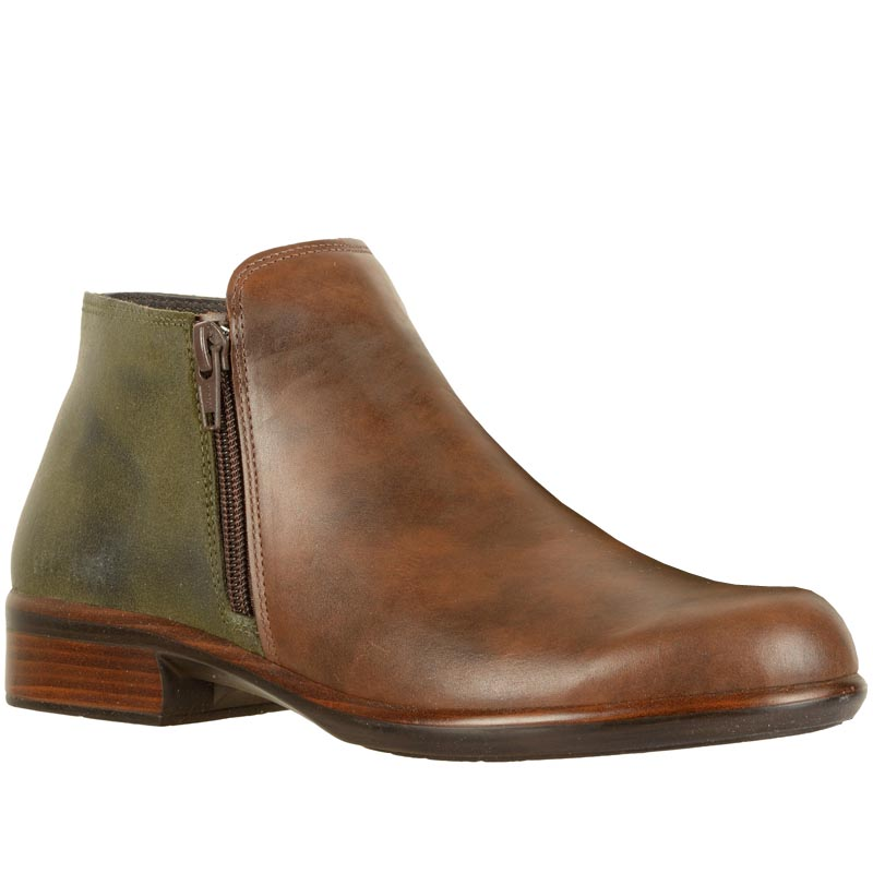 46b1a03a1614 Naot Helm Pecan Brown  Oily Olive 26030-SBP (Women s)